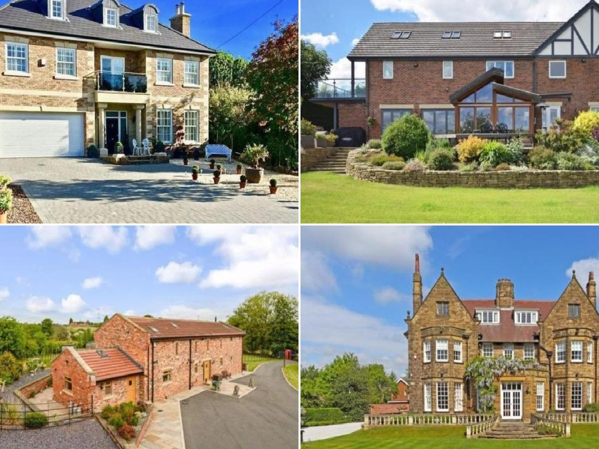 Indoor swimming pools, tennis courts and luxury bathrooms - there are some stunning properties for sale in Wakefield at the moment.