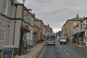 Bid to ban HGVs from town centre