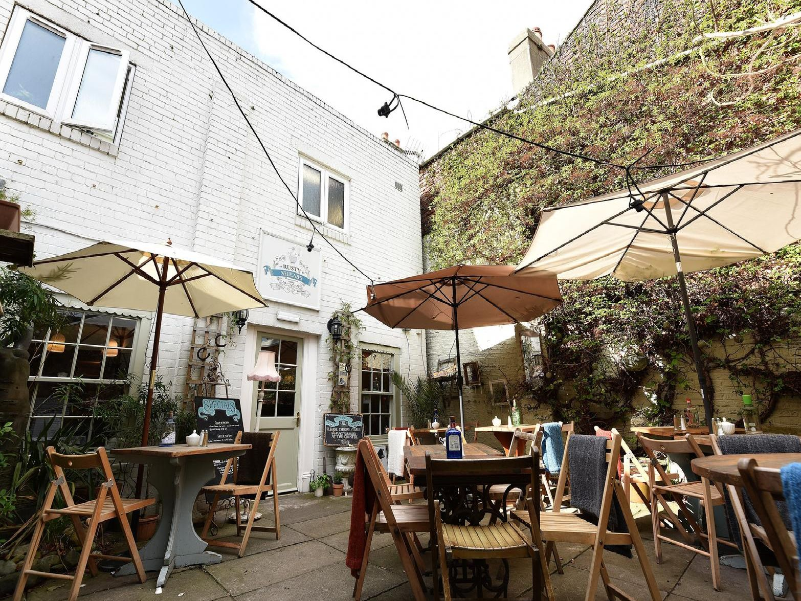 "Boasts a lovely courtyard and praised on TripAdvisor for its friendly service, good food - a ""quirky tea shop"" said another reviewer."