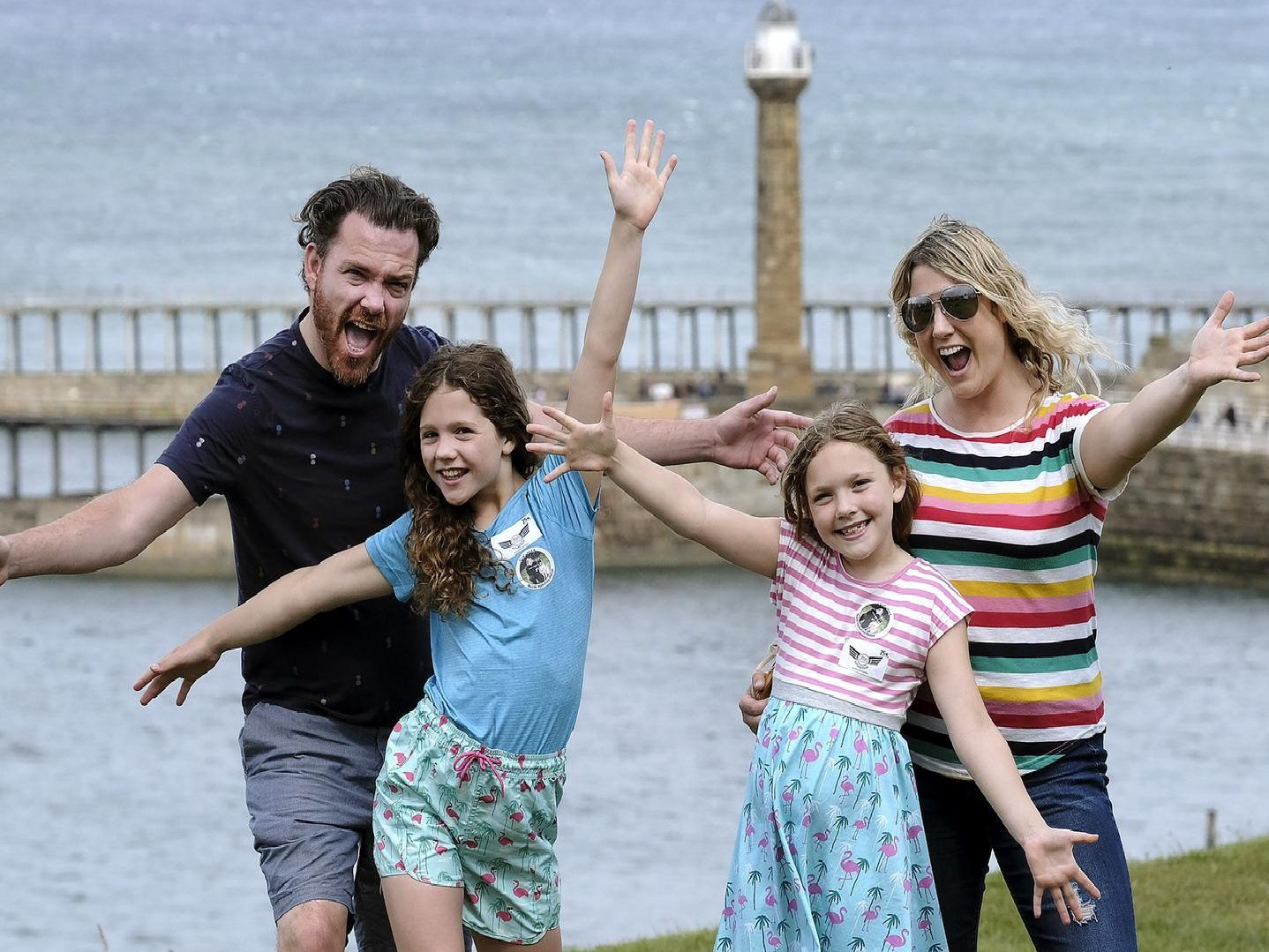 Family fun on the West Cliff