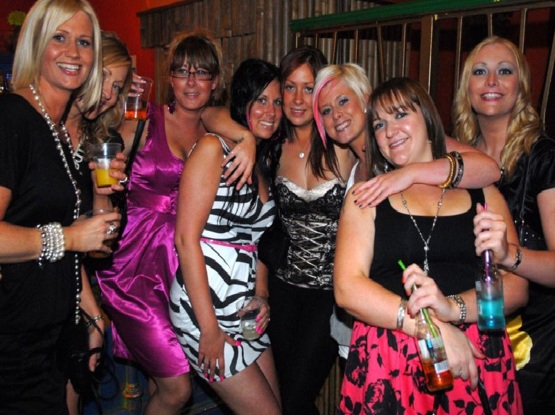 Wiganers on the town in 2009