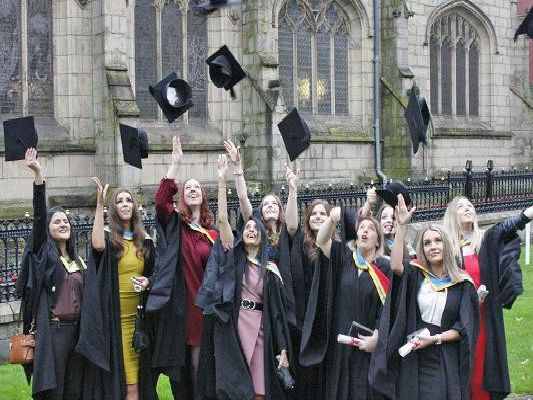 Years of hard effort are rewarded at Wigan and Leigh college's graduation ceremony - Wigan Today