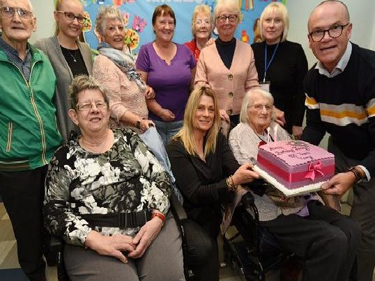 Surprise centenary bash for Jenny at Queen's Hall in Wigan - Wigan Today