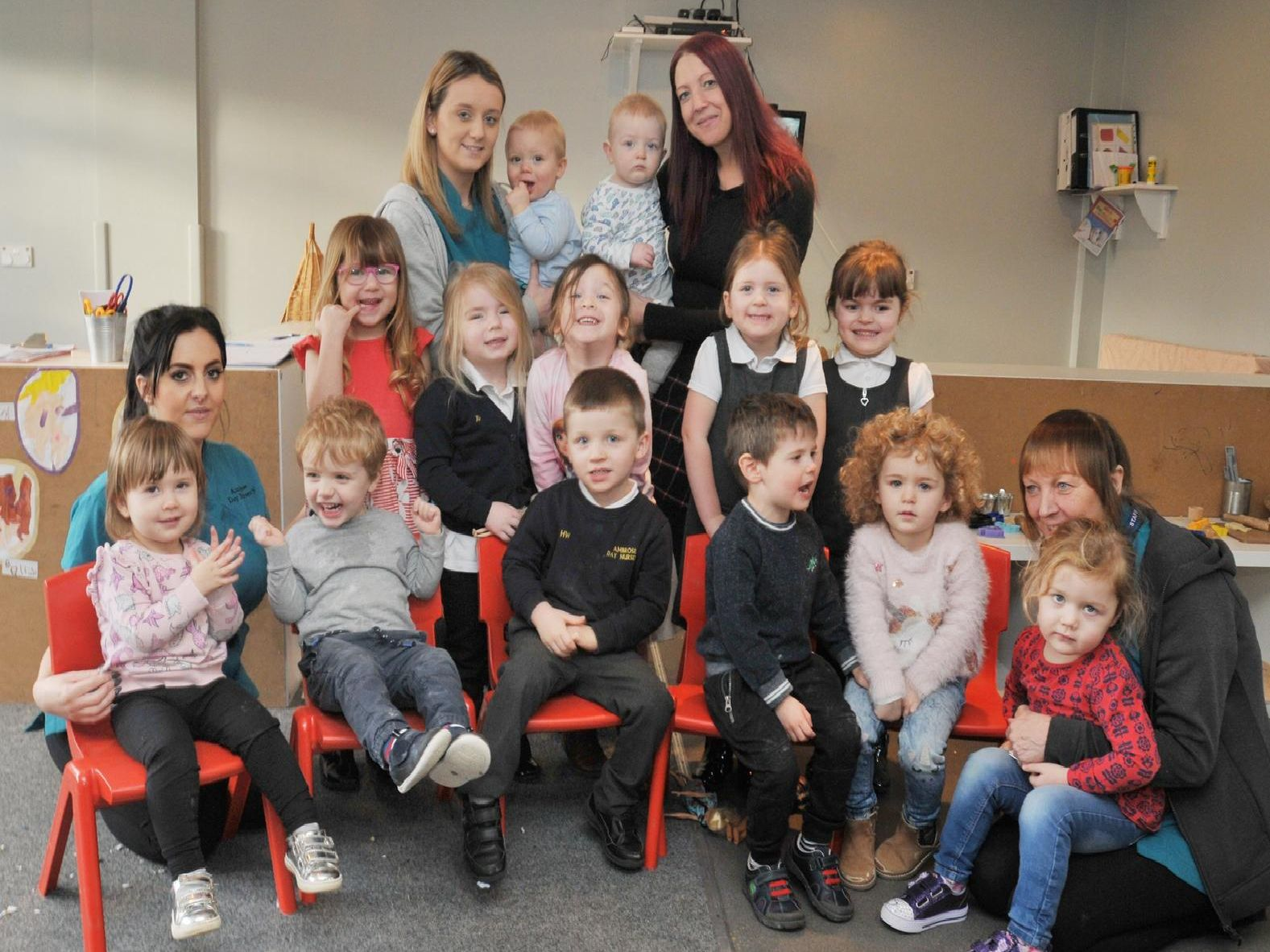 Little tots learn lots at Ambrose Day Nursery where it's all fun and games.