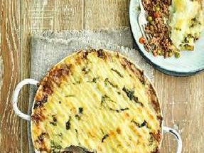 Cottage pie with Irish stout