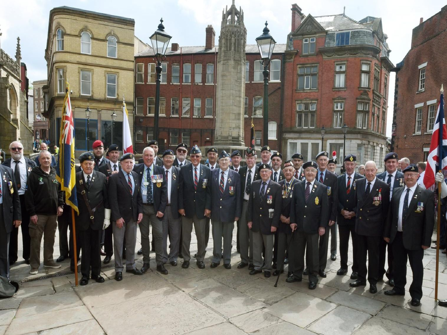 Wigan came together to remember the extraordinary events of D-Day 75 years later