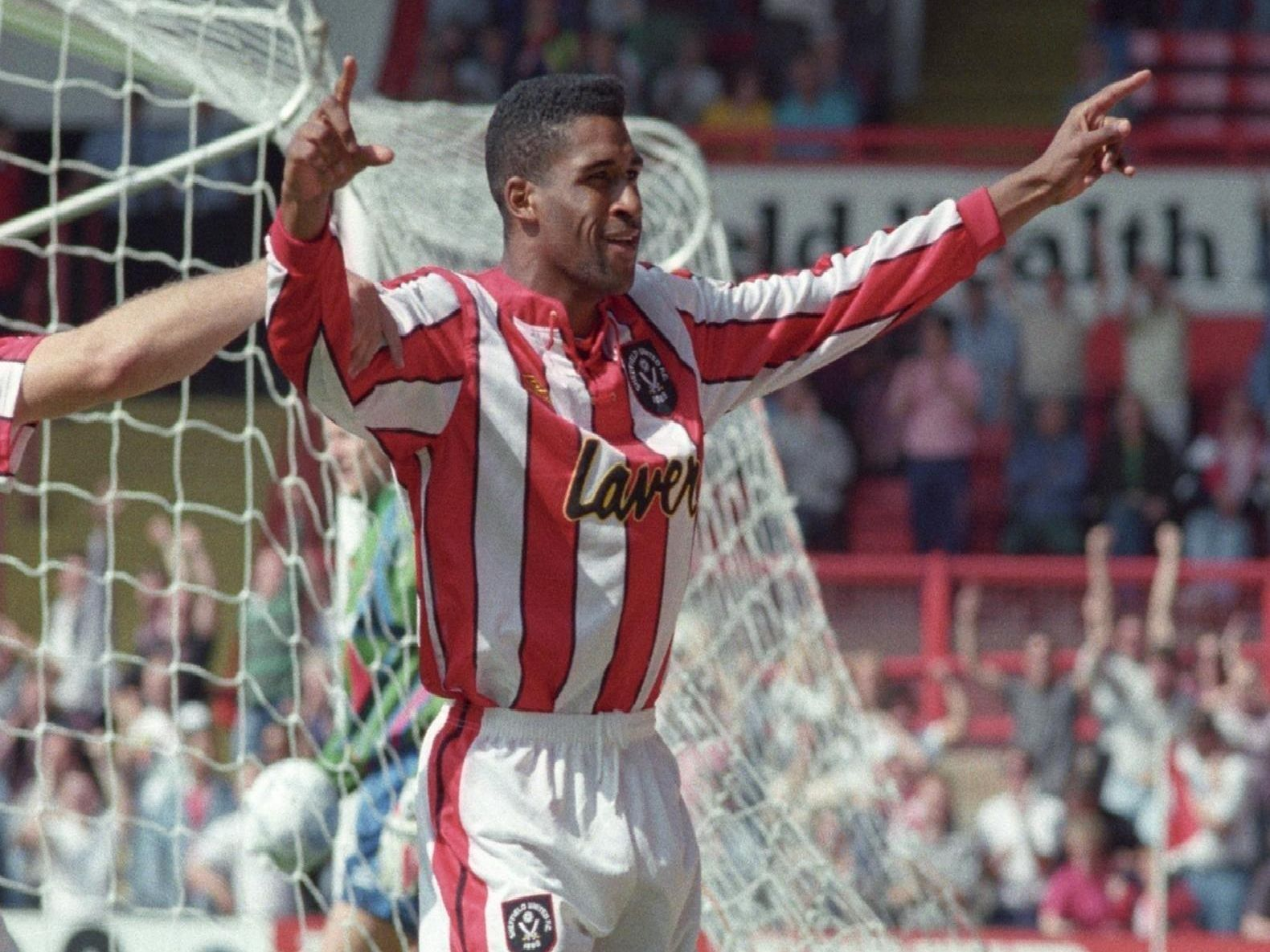 Brian Deane scored the first-ever Premier League goal