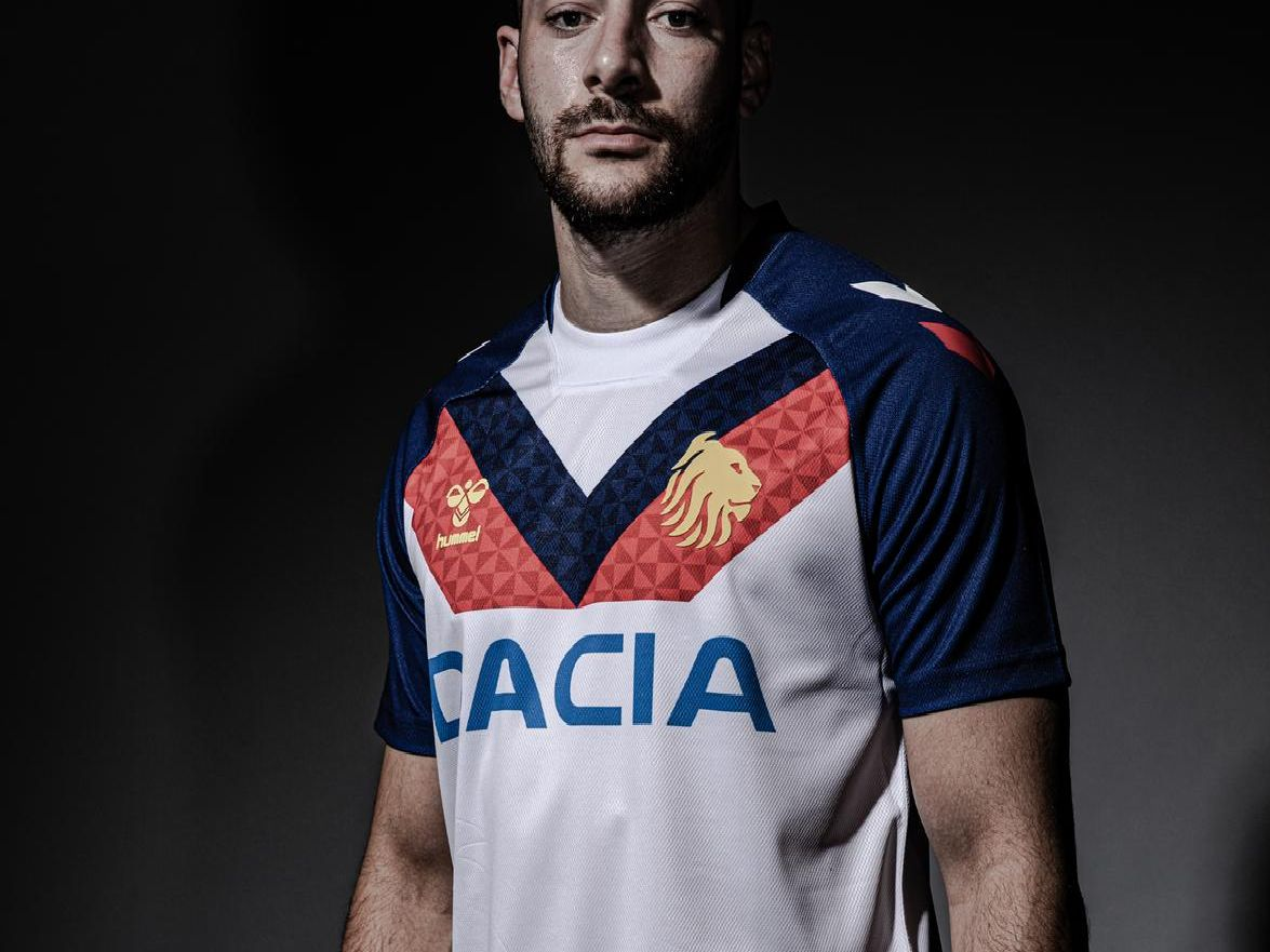 Jake Connor models the new kit