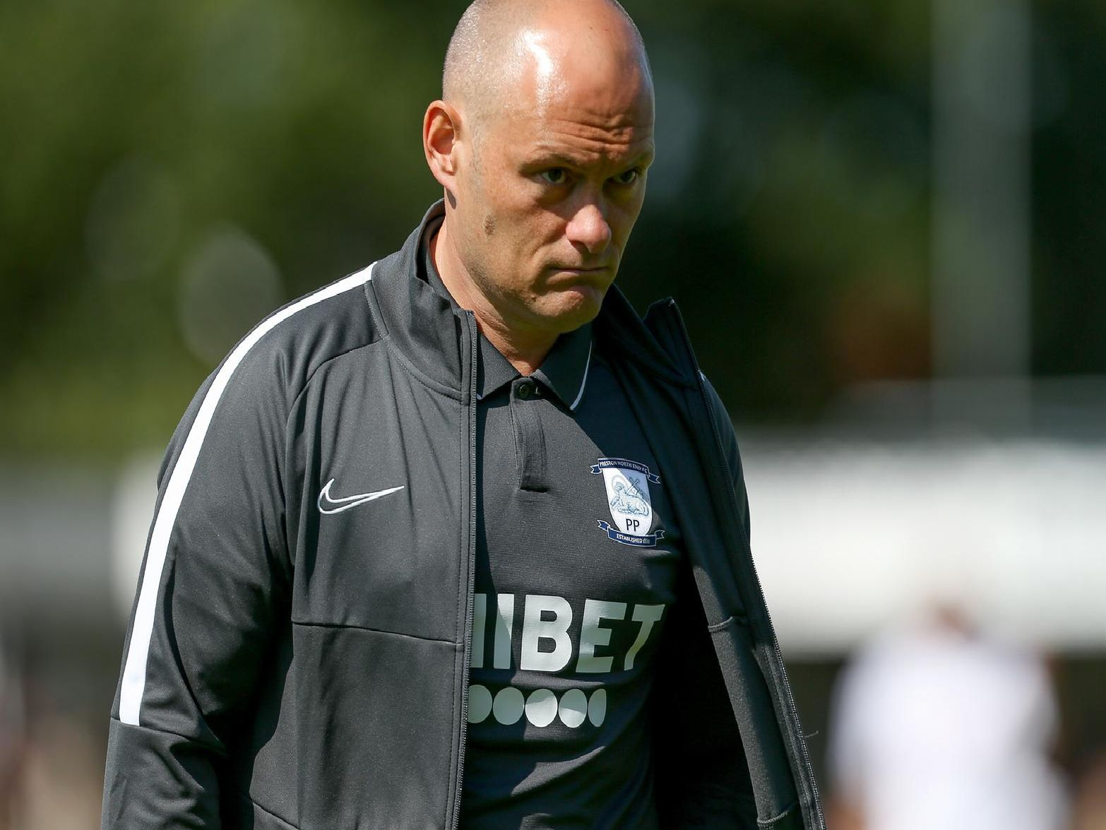 Preston North End manager Alex Neil