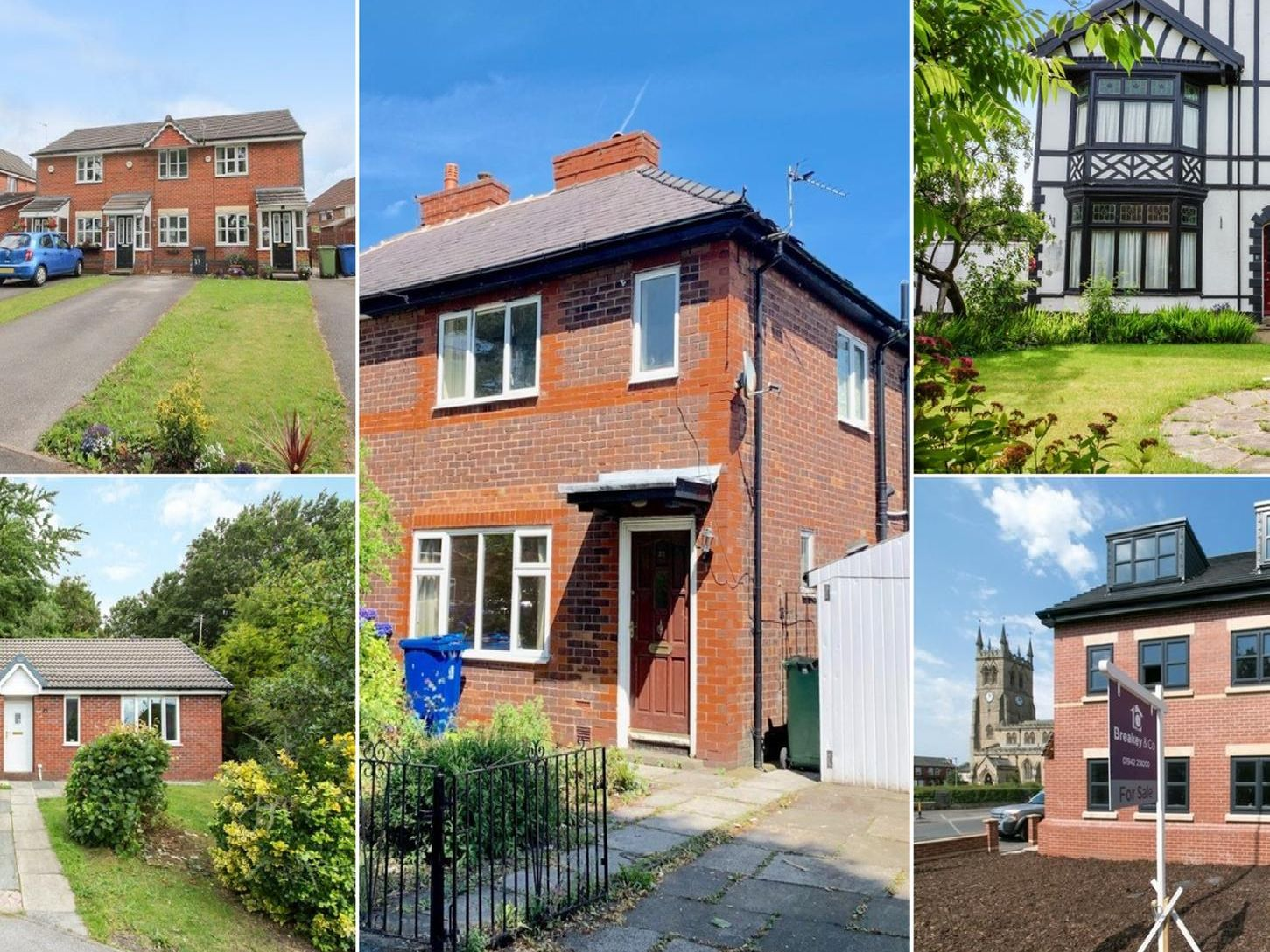 These are the 10 most viewed properties in Wigan according to Zoopla