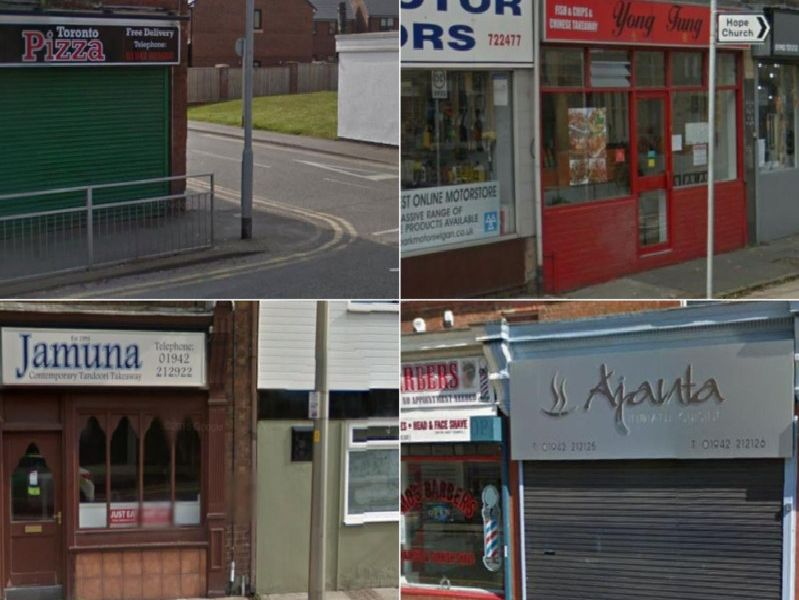 These are some of the top-rated takeaways in Wigan.