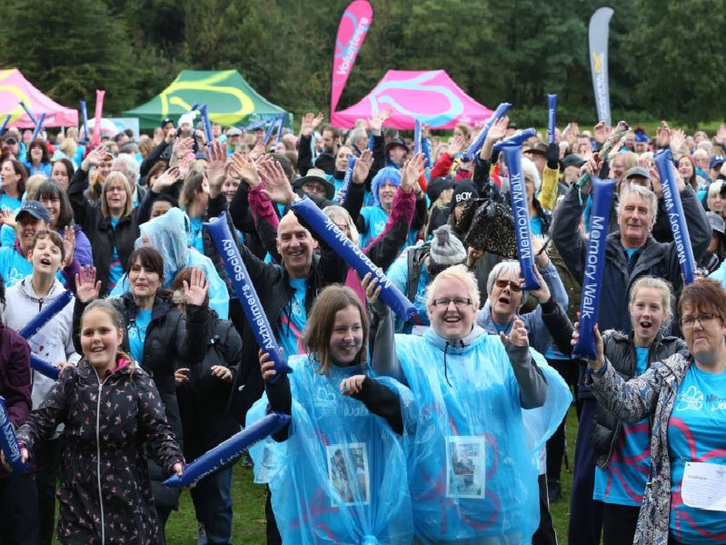 Images from the Clumber Park Memory Walk organised by theAlzheimers Society'Picture Richard Doughty Photography