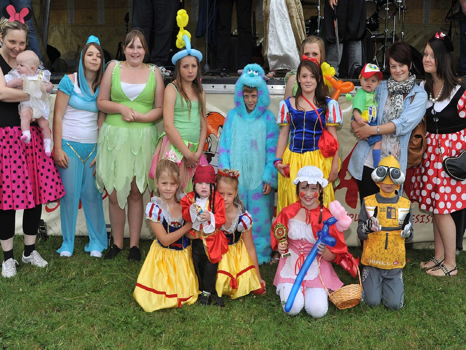 2010: A fabulous group shot snapped at the eighth annual Manton Gala held at Bracebridge Fields in Worksop. The gala had a Disney theme and children took part in a fancy dress competition. Did you dress up as a Disney character?