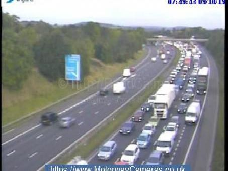 Live: Huge delays on M1 in South Yorkshire after multi-vehicle collision shuts three lanes