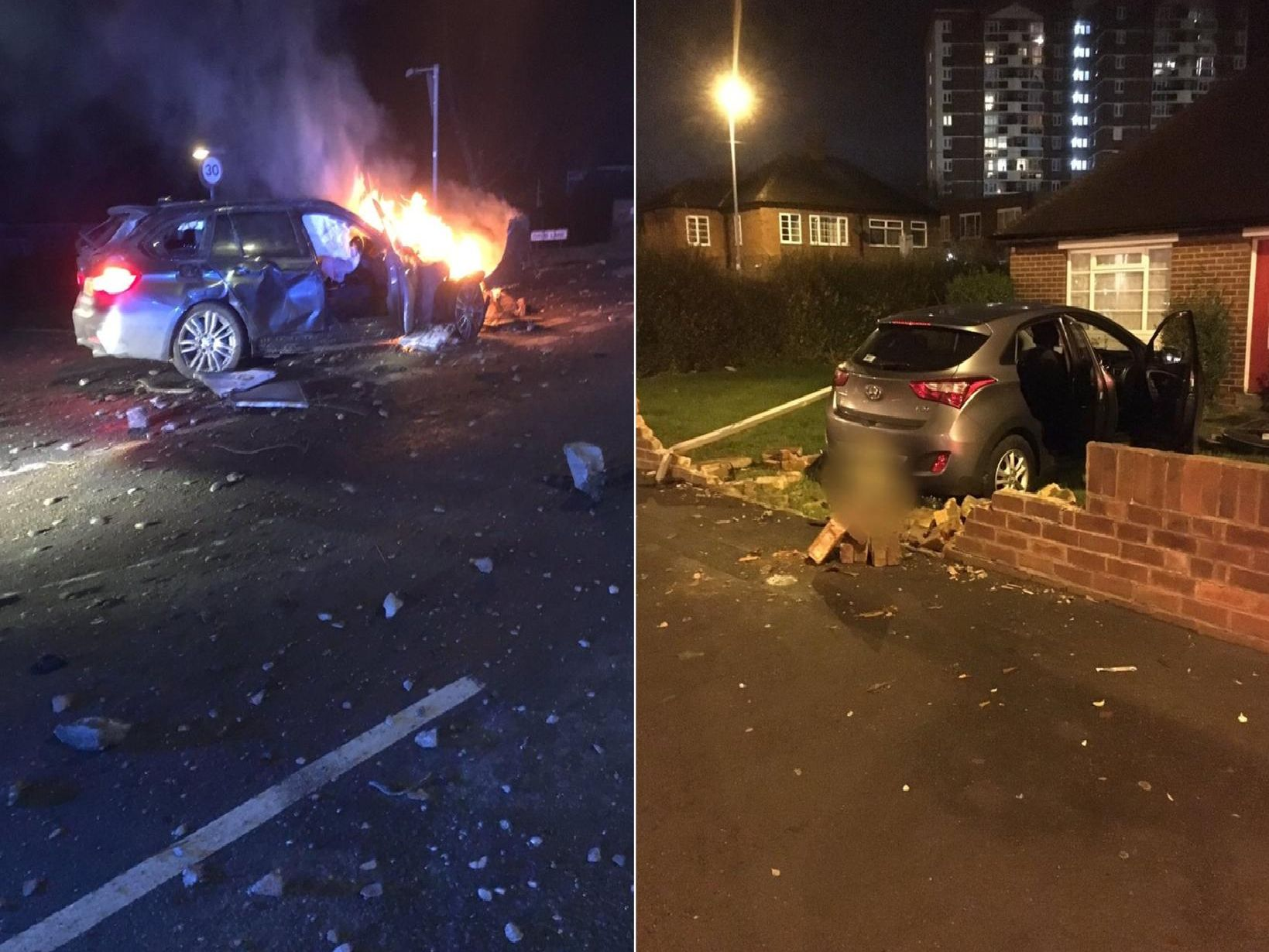 Some of the incidents police dealt with this week