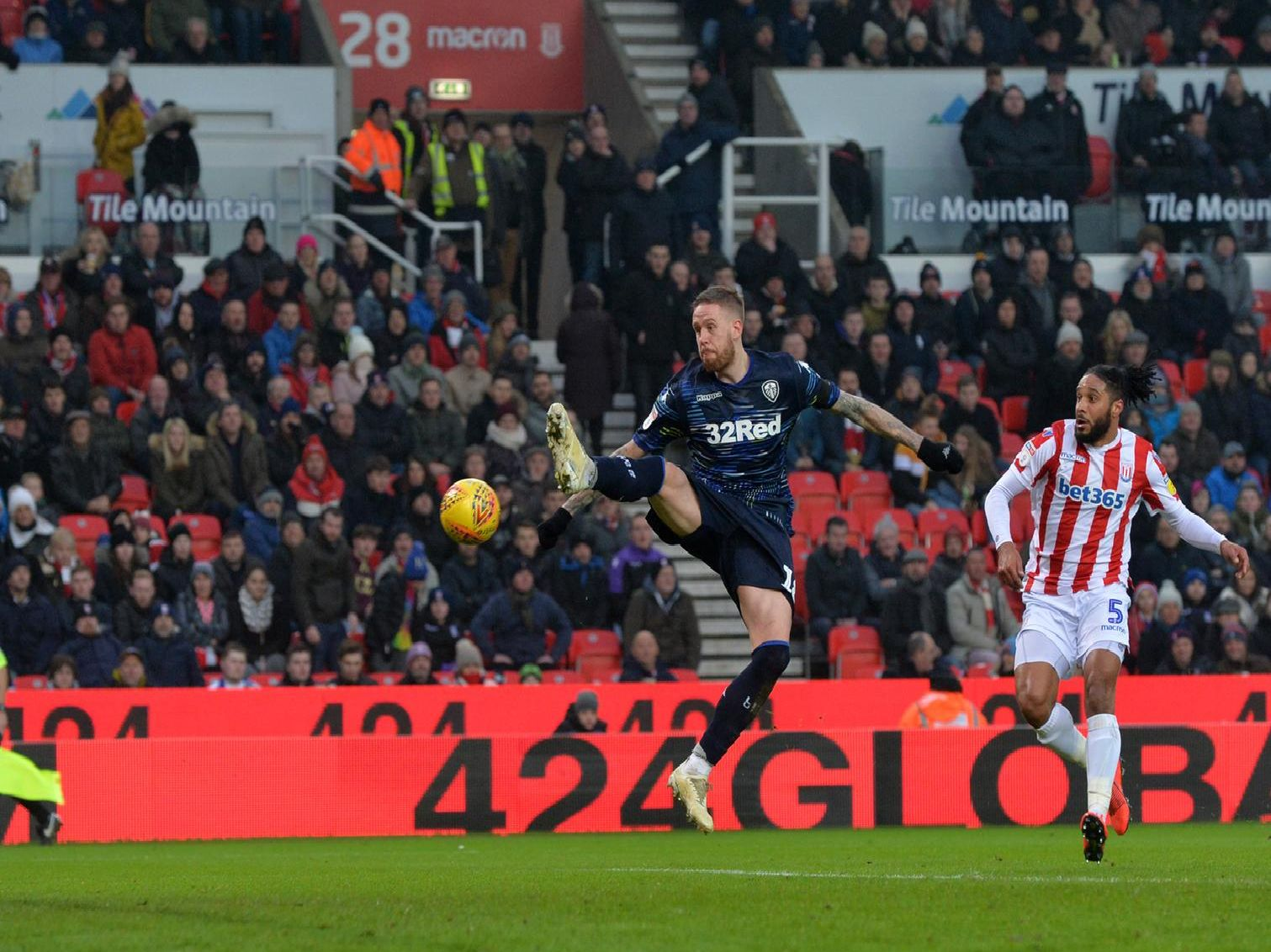 Leeds United fall to Stoke defeat