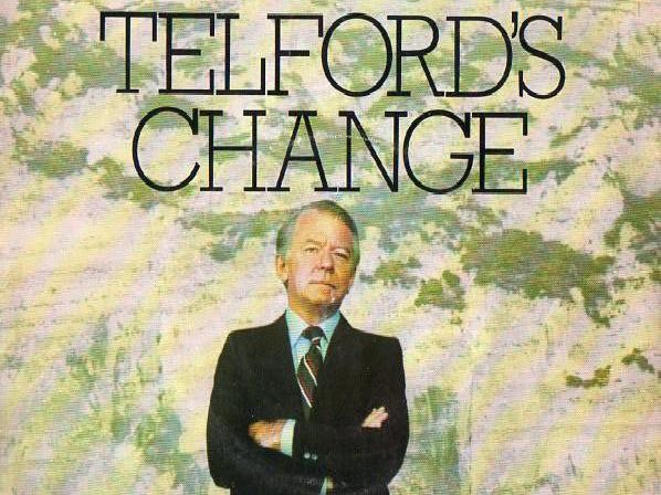 Telford's Change was a 1979 BBC television series by Brian Clark which starred Peter Barkworth, Hannah Gordon and Keith Barron.''Barkworth played a bank manager, Mark Telford, who took a backward step in his career in order to retreat from the rat race. He relinquished his job in international banking and became a local branch manager in Dover.''Telford's wife Laura (played by Hannah Gordon) and son Peter (Michael Maloney) remained in London. ''Keith Barron played Tim Hart, Laura's theatrical colleague who was keen to have an affair with her, and with whom she did have a brief liaison. In order to win back his wife, Telford gave up the Dover job and returned to international banking.