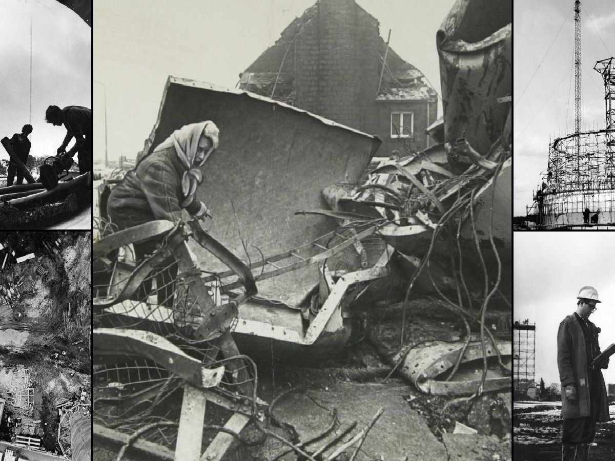 50 years on: 21 pictures from the Emley Moor TV Tower collapse