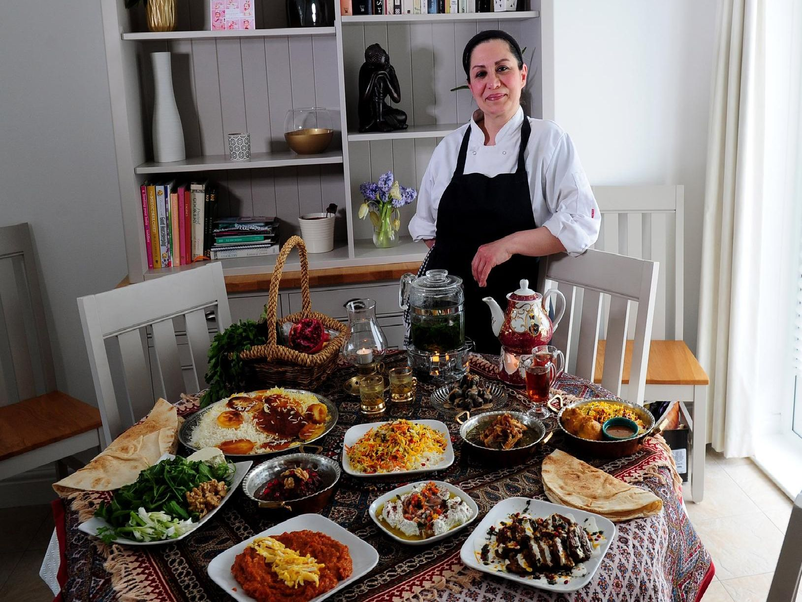 Afsaneh Kaviani's Persian supper club