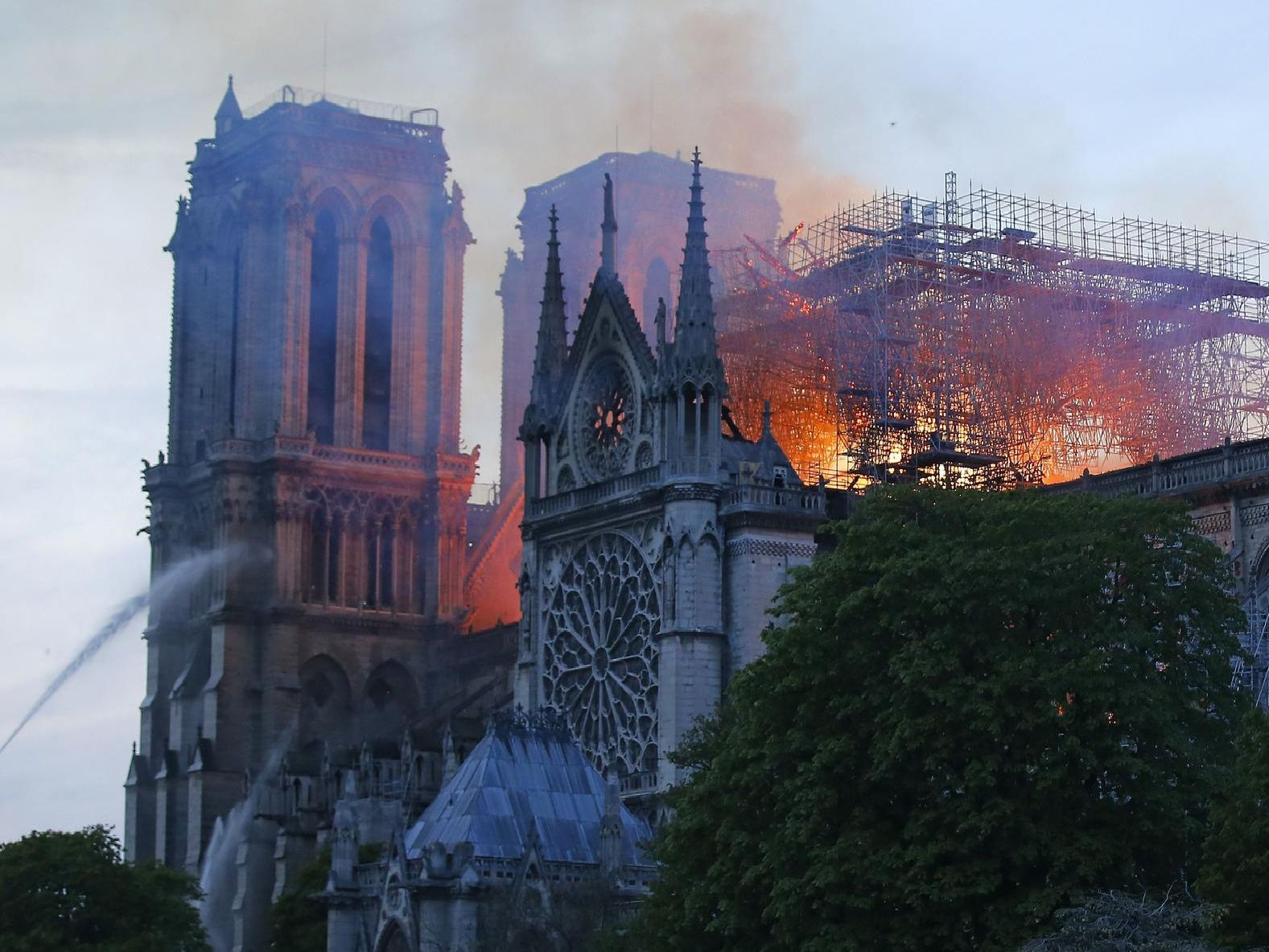The latest pictures from the devastating fire at Notre-Dame Cathedral.