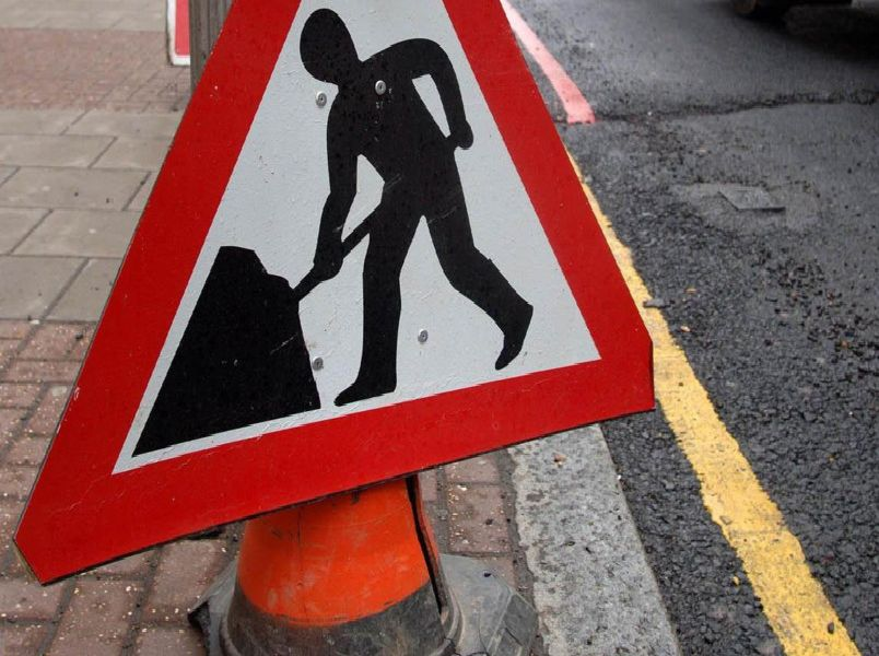 Planned roadworks in Leeds.