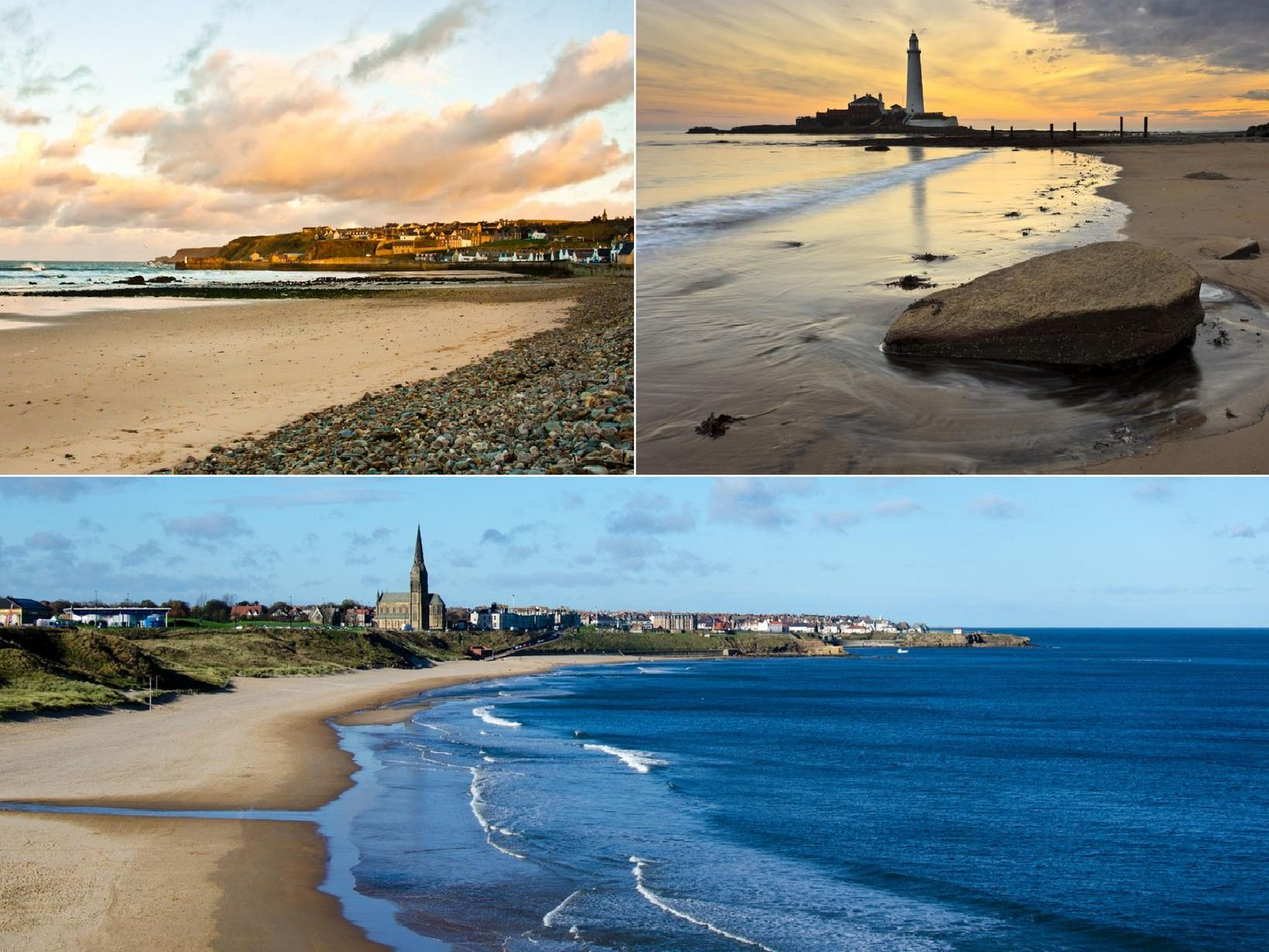 These are the blue flag beaches in North East England and Yorkshire