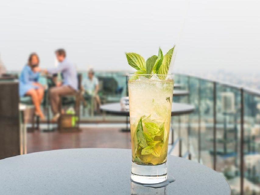 At these swanky rooftop venues, you can catch some rays and enjoy the views while sipping on a cocktail or two