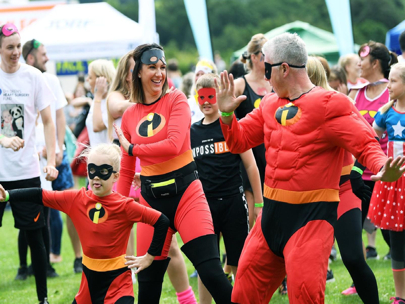 The event at Temple Newsam raised a lot of money for charity.