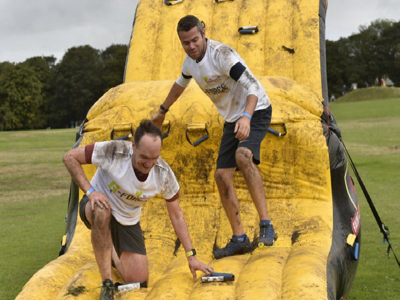 G-Force Obstacle Run at Roundhay Park Leeds