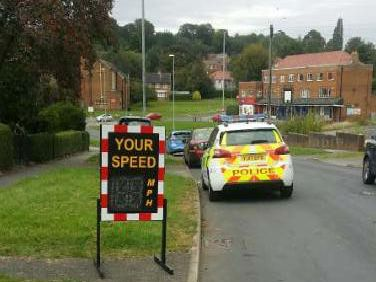 Police have been warning drivers about speeding on these Leeds roads
