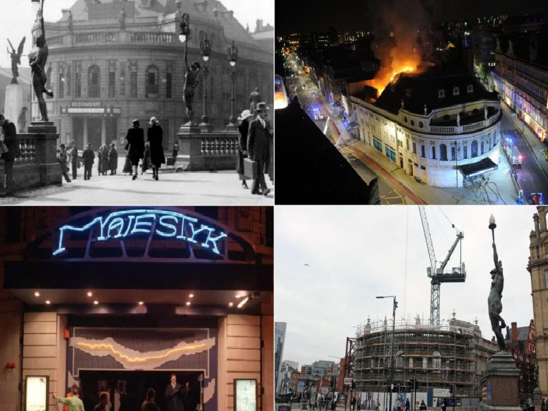 As speculation mounts that Channel 4 is going to move into the old Majestic nightclub, we took a look at the building through the years.