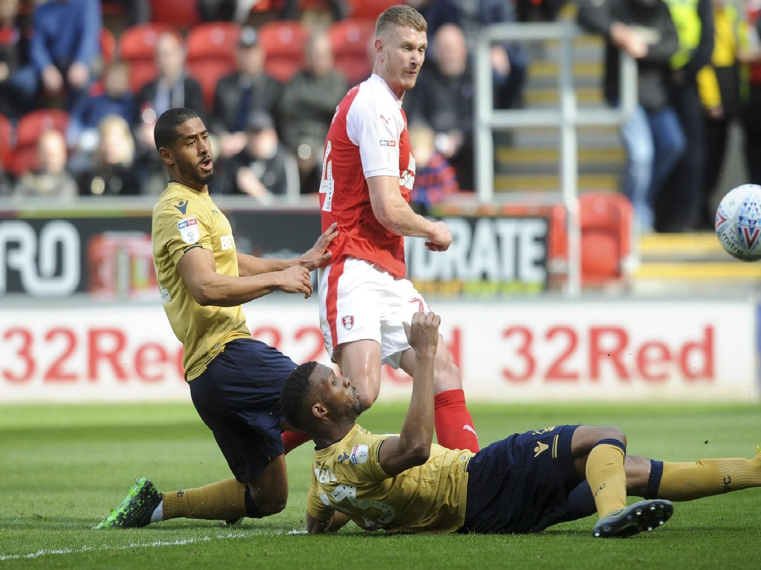 Michael Smith scored a goal to earn Rotherham a win and force his way into the team.