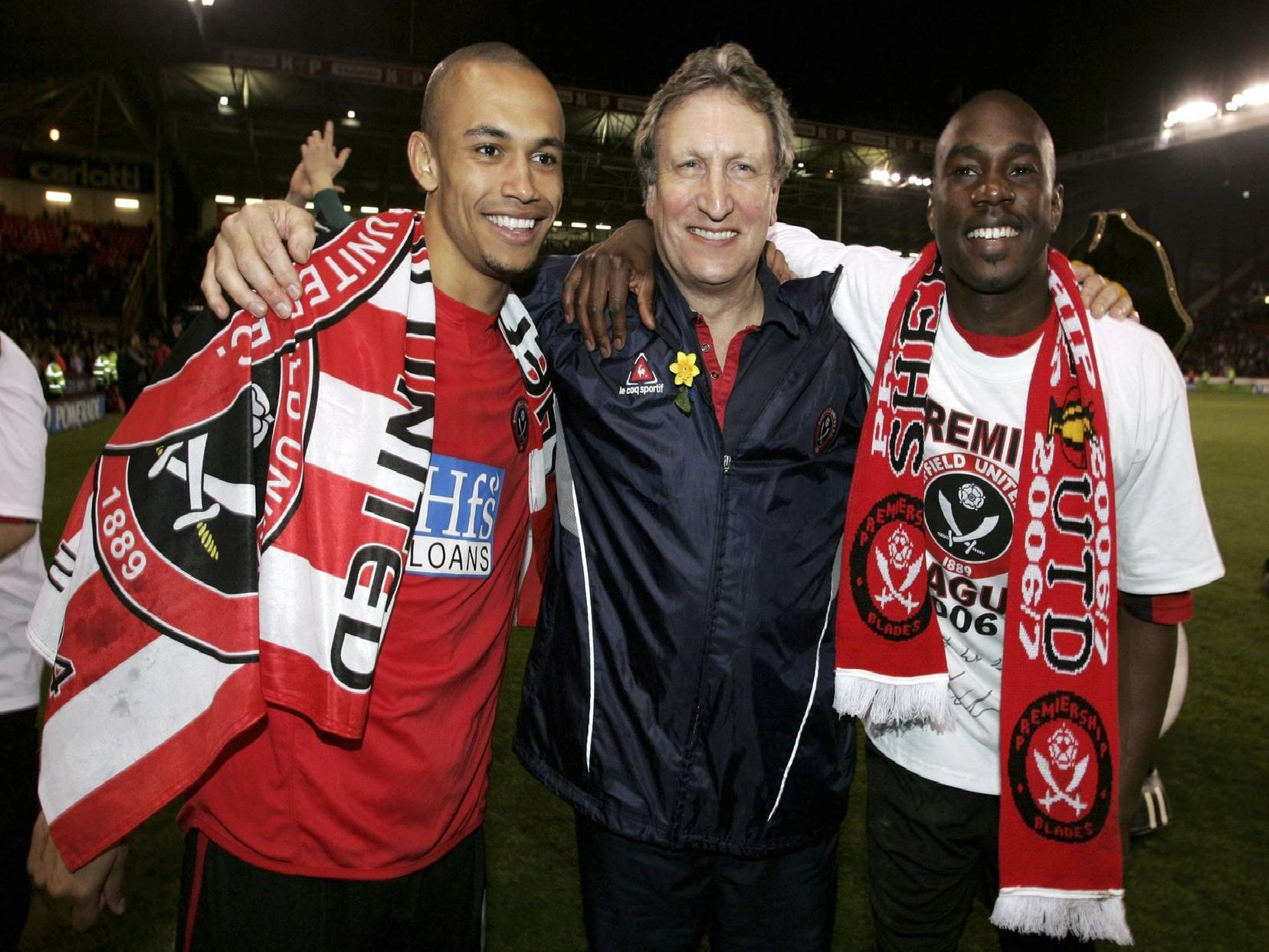 The Blades were promoted under Neil Warnock in 2006.