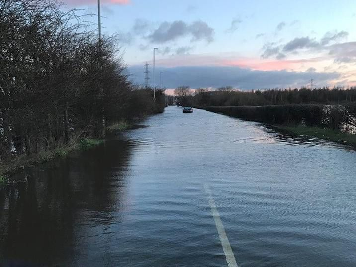 Cars stuck and buses diverted due to flooding in East Leeds thumbnail