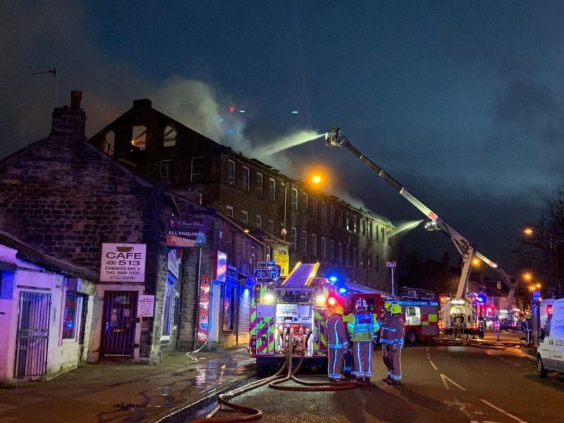 Firefighters are still at scene of Bradford mill fire - this is why thumbnail