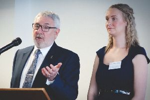 Building Futures: Andy Howarth and Natalie Wells of The Howarth Foundation.