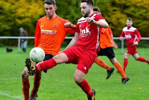 Benjamin Smith's goal wasn't enough to prevent Hartshead bowing out of the West Yorkshire League Cup to Salts.