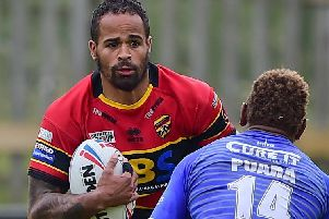 Jode Sherrife has been named in the Jamaica squad for Sunday's clash with England Knights. PIC: Paul Butterfield.