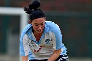 Kim Sharples shared player-of-the-match after helping Batley Ladies to a 2-1 win at Thirsk last Saturday.