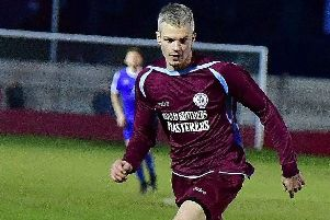 Matthew Bugg  opened the scoring with a superb volley as Littletown earned a 2-1 win over Wortley in the Yorkshire Amateur League Supreme Division last Saturday. Picture: Paul Butterfield