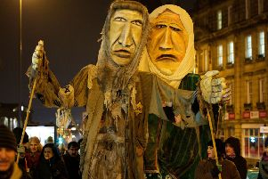 Weeping sisters: We Stand Together will start outside Dewsbury town hall at 6.30pm.