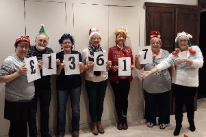 Members of the Batley and Spen Marie Curie fundraising group accrued �13,617 during 2019.