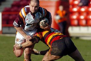 Craig Lingard during his playing days at Batley.