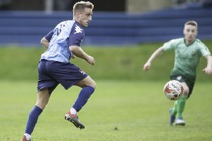 Joseph Kenny scored in Liversedge's 1-1 draw away to Yorkshire Amateurs last Saturday.