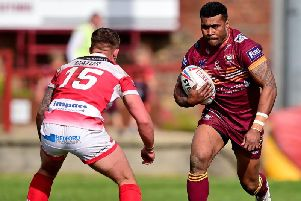 Batley Bulldogs' Joe Taira.