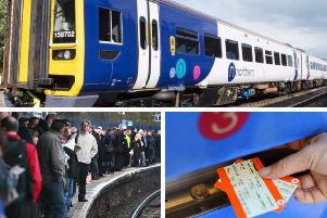 Train strikes in West Yorkshire