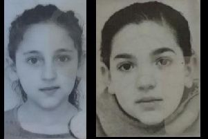 Police have released this image of the missing girls