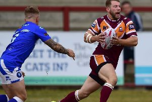 Former Batley forward Brad Day is closing in on 100 career appearances as he prepares to face his former club with new side Featherstone Rovers.