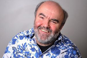 Comedian and comic writer Andy Hamilton.