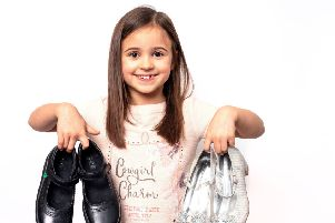 Shoe in: Amelia Brown was cast in Wynsors World of Shoes' brand-new TV advert.